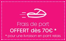 Frais de port OFFERT dès 59 €
