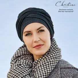 Turban écharpe duo - Smoky