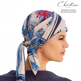 Foulard Palm beach - bambou