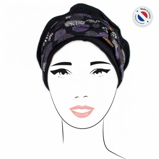 Pack Bonnet Noir + 2 bandeaux