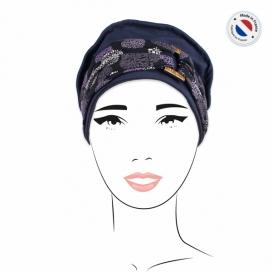 Pack Bonnet Bleu marine + 2 bandeaux