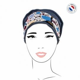 Pack Bonnet Gris bleu + 2 bandeaux
