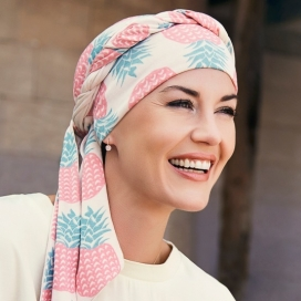 Turban chimio long bambou - caraibes