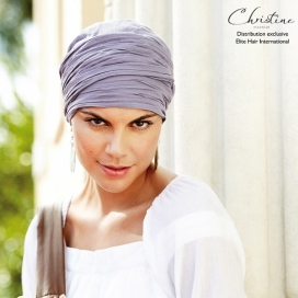 Turban chimio long - Lavande