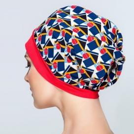 Bonnet Frégate - rouge et carreaux