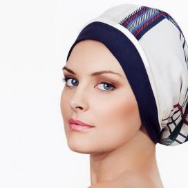 Bonnet Frégate - bleu et blanc