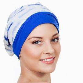 Bonnet Frégate - bleu et bleu ciel
