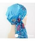 Mix Création 1 Bonnet fuschia + 2 Foulards chimio