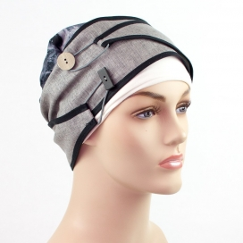 Turban court + Bonnet bambou - New York