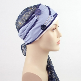 Turban long + Bonnet bambou - Athènes