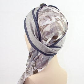 Turban long + Bonnet bambou - Stockholm