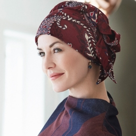 Turban chimio long bambou - Toscane
