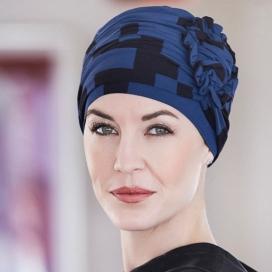 Bonnet bambou chimio bleu - Blujack