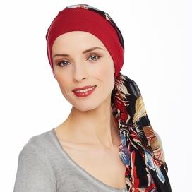 Bonnet foulard bambou - annabell bordeaux