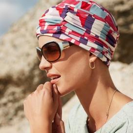 Bonnet chimio + bandeau bambou - Ibiza