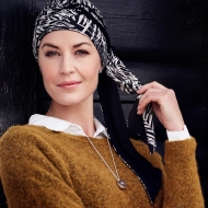 Turban chimio long bambou - Fantasia