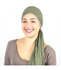Turban Bali Bleige - 1 Bonnet + 2 Foulards chimio