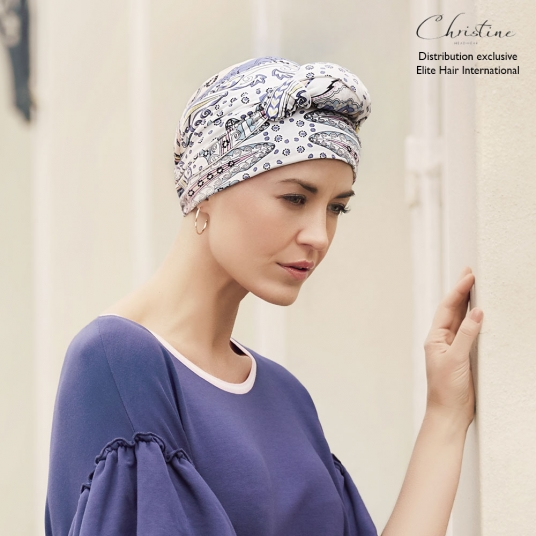 Turban chimio Bambou - Aquarelle
