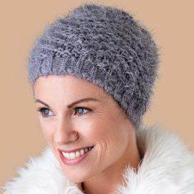 Bonnet Chimio Angora gris