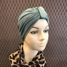 Bonnet Lycra Coton - bonnet Emeraude