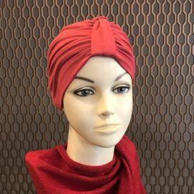 Bonnet Lycra Coton - bonnet Rouge Hermès