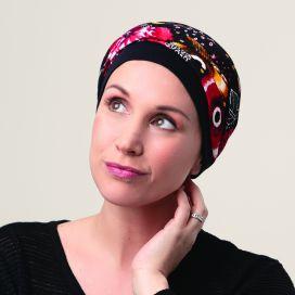 Bonnet Turban Kenaya Noir