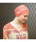 Bonnet chimiothérapie - alternative perruque - Rose comme femme