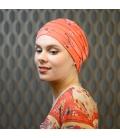 Bonnet radiotherapie - chute cheveux - cancer - Rose comme femme