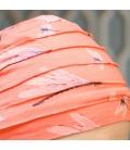 Detail bonnet chimio - Christine Headwear - bambou - chute de cheveux - cancer