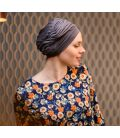 Bonnet chimio Bambou - Adèle Taupe