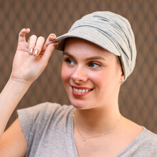 casquette femme chimio