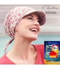 Chapeau chimiotherapie - protection UPF50 - cancer - rose comme femme