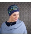 Bonnet chimio Bambou - Doris BLEU LAGON
