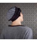 Chute cheveux - alopécie traitement cancer - bonnet chimio turban chapeau perruque - Rose comme Femme