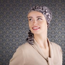 Detail Turban foulard - Viva femme - cancer - chimitherapie - chute cheveux alopecie
