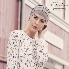 Bonnet chimio MOON - Tan