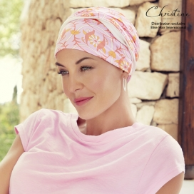 Bonnet Chimio bambou -Easy Lagon Rose