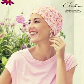 Bonnet Chimio zen en bambou Lagon Rose