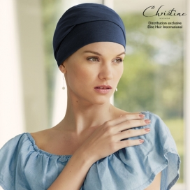 Bonnet chimio - Collection VIVA : Calin Navy