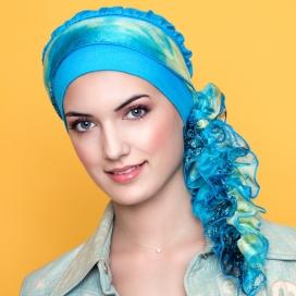 Turban FrouFrou turquoise
