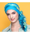 Bonnet FrouFrou turquoise