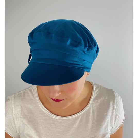 Casquette chimio Gavroche Bleu