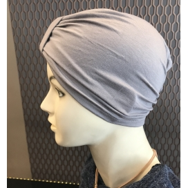 Bonnet Lycra Coton - bonnet gris