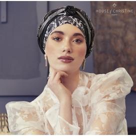 Bonnet chimio - Collection BOHO SCARLETT JAZZY