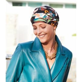 bonnet chimio CAP ANNA NOIR