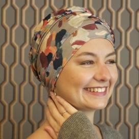 Bonnet chimio CAP ANNA GRIS