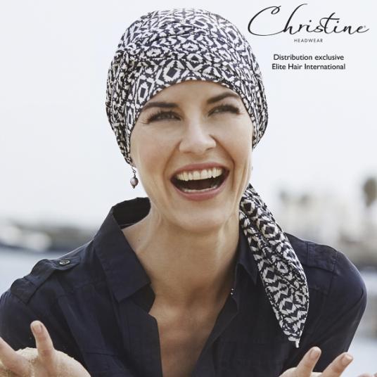 4d807027b5d0 Turban chimio coton froissé - motif domino - Rose comme Femme