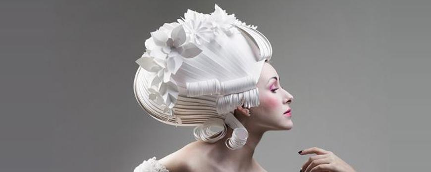 La perruque en papier inspire Asya Kozina !